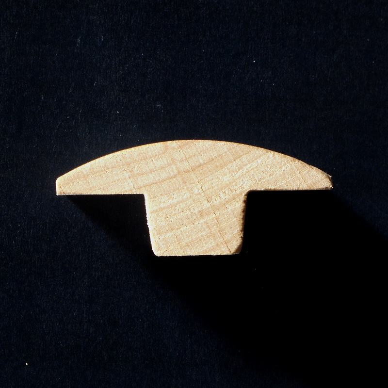 8mm Maple T-Mould