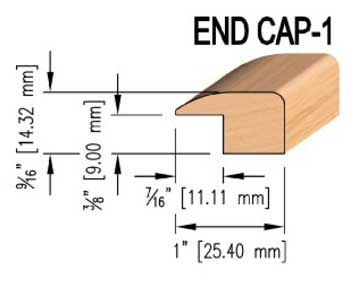 Maple End Caps