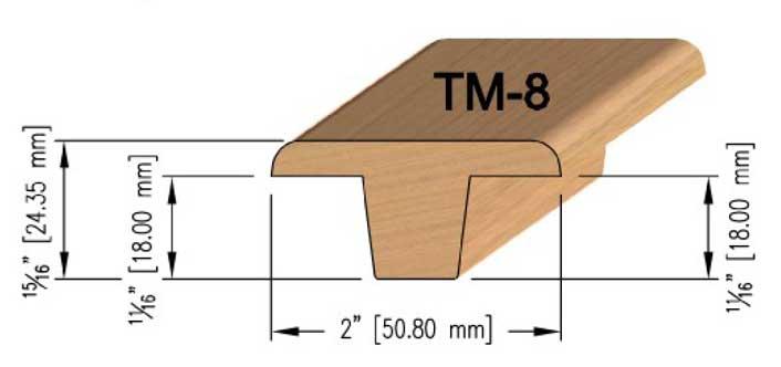 18mm Maple T-Mould