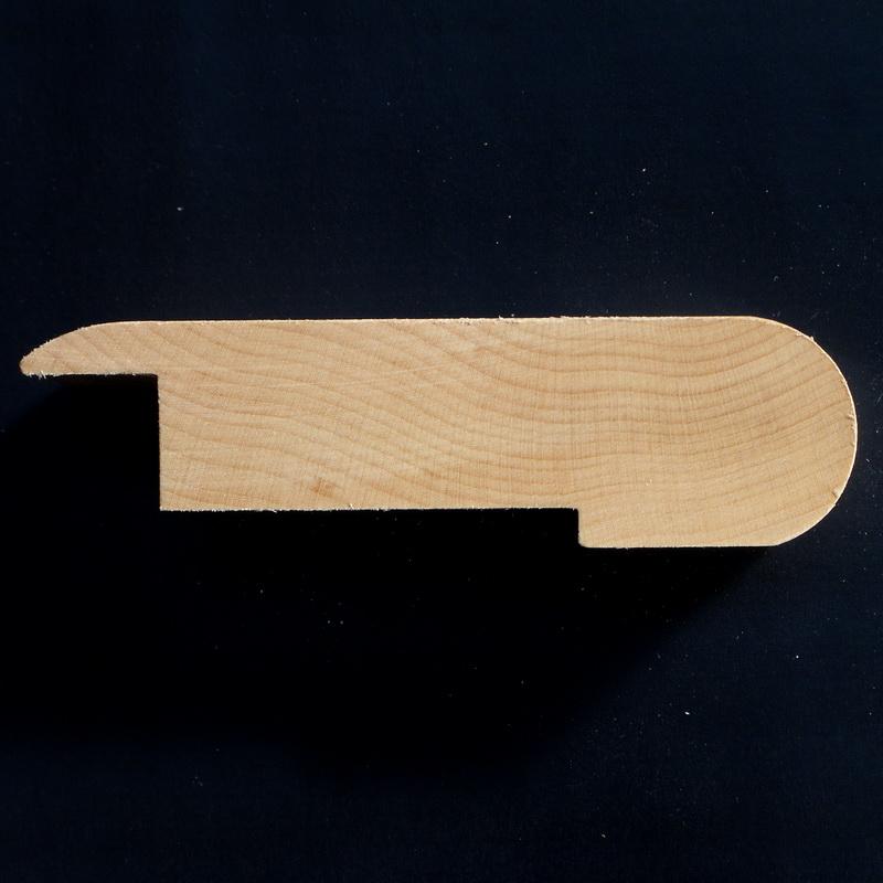 12 mm Oak Overlay Stair Nosing