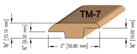 Small Step Oak T-Mould