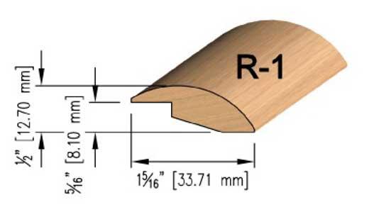 8 mm Oak Reducer