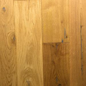 189mm Natural Oak Brushed Engineered T&G