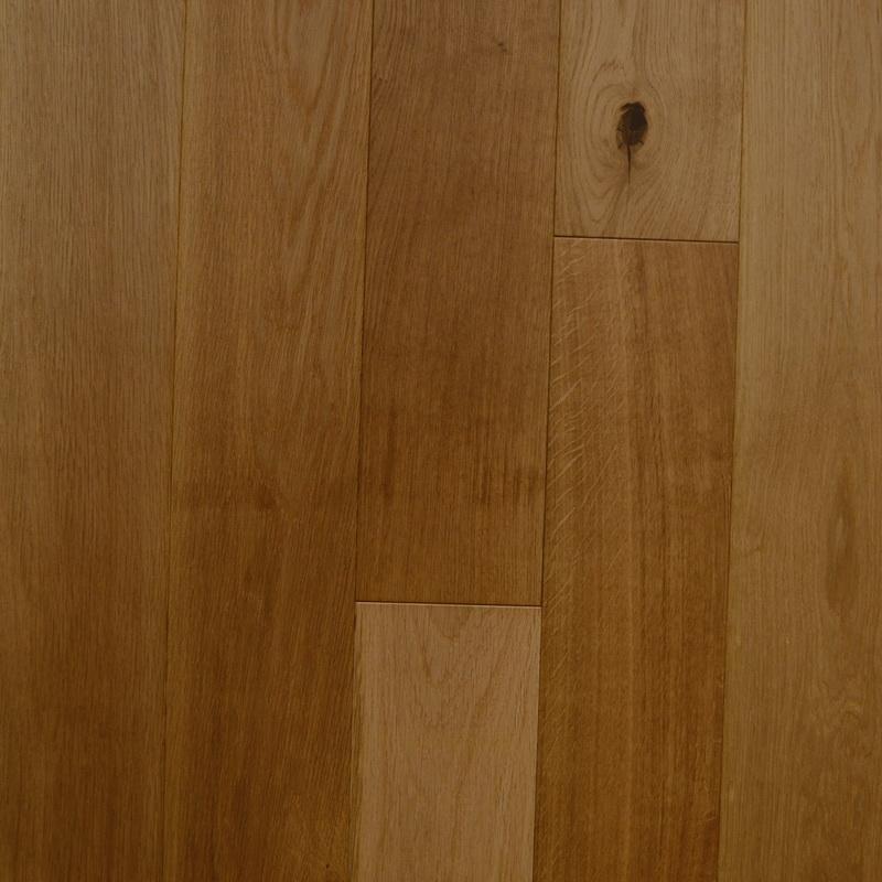 150mm Natural Oak Brushed Engineered T&G