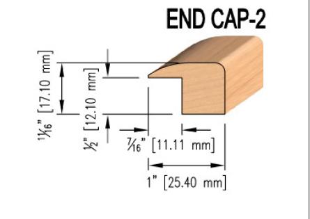 Oak End Caps