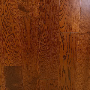 127mm Brazilian Cherry Oak Flat Engineered T&G