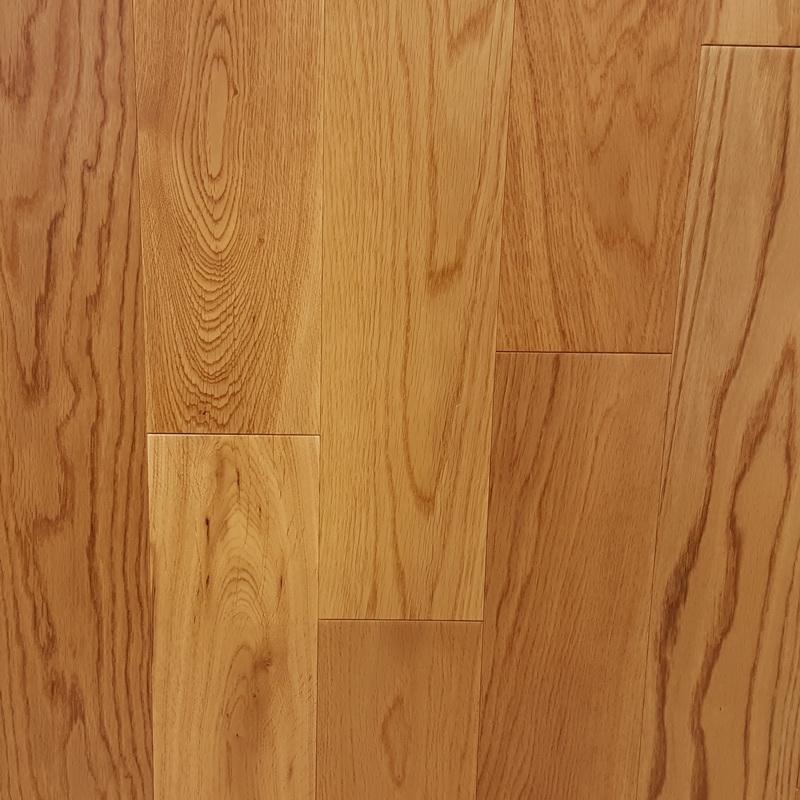 120mm Natural Oak Flat Engineered T&G