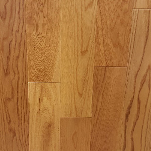 120mm Natural Oak Flat Engineered T&G