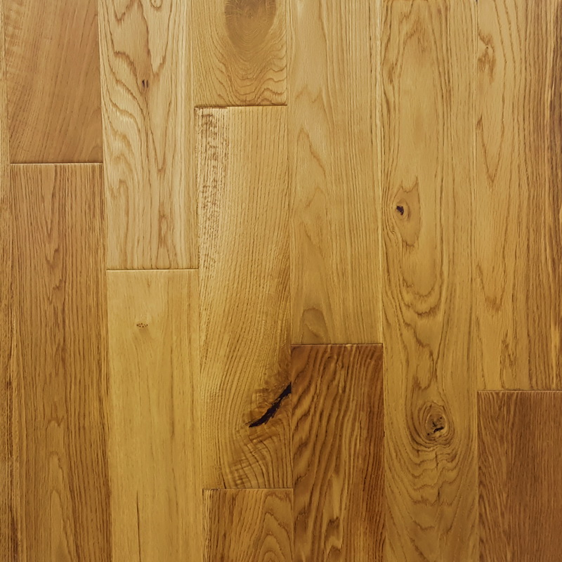 120mm Natural Oak Distressed Engineered T&G