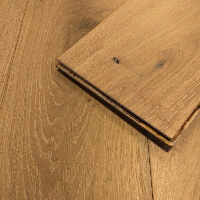 189mm Chalet Blanc Oak Brushed Engineered T&G