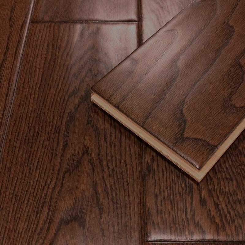 125mm Walnut Oak Distressed Engineered T&G