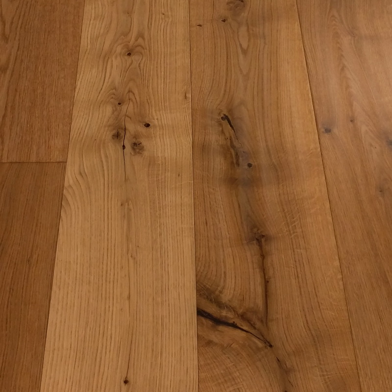 189mm Natural Oak Distressed Engineered T&G