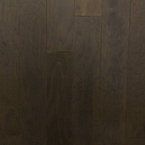 125mm Graphite Hickory Distressed Engineered T&G