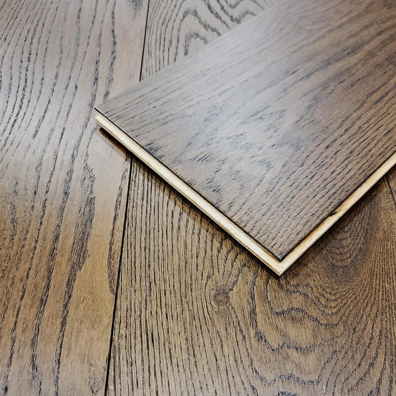 Castlewood Engineered T&G Brushed European Oak 193mm x 14/3mm Amarillo