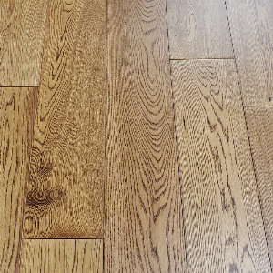 150mm Caramel Oak Flat Engineered T&G
