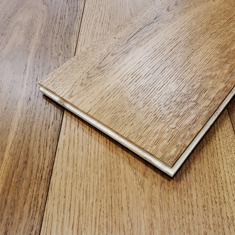Castlewood Engineered T&G Brushed European Oak 195mm x 14/2mm Country Bluff