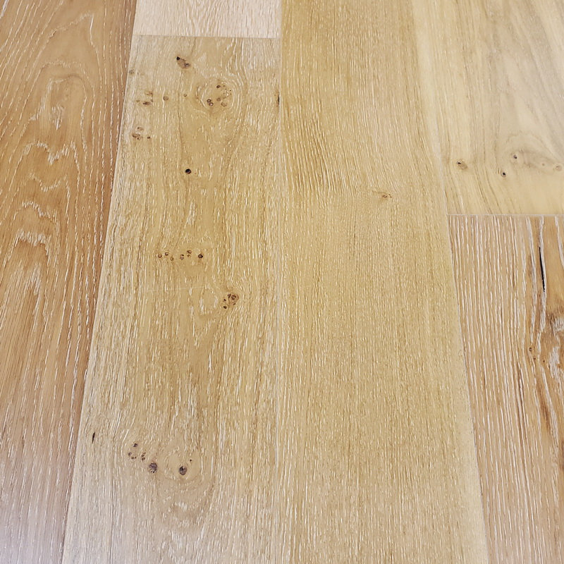 195mm Mead Oak Brushed Engineered T&G