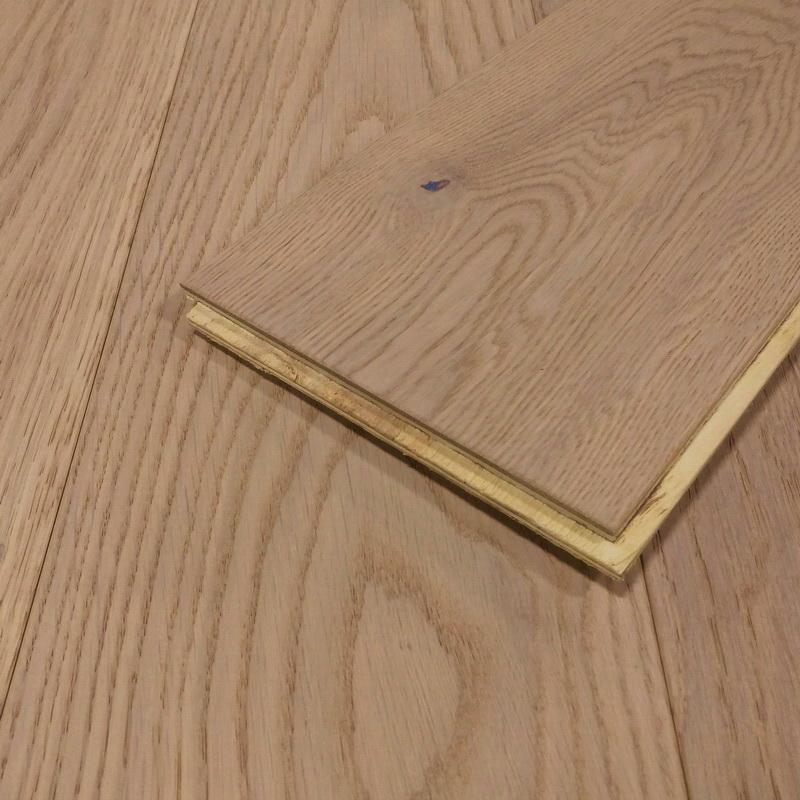 150mm Sand Oak Brushed Engineered T&G