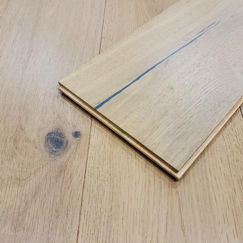 Castlewood Engineered T&G Brushed European Oak 193mm x 14/3mm Urban Loft