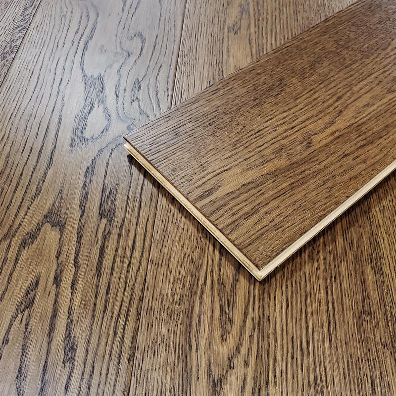 190mm Windsor Brown Oak Brushed Engineered T&G