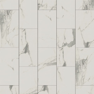 "Vinyl 4.2mm BTJ Kings StoneLock Click Tile 12"" x 24"" Florence"